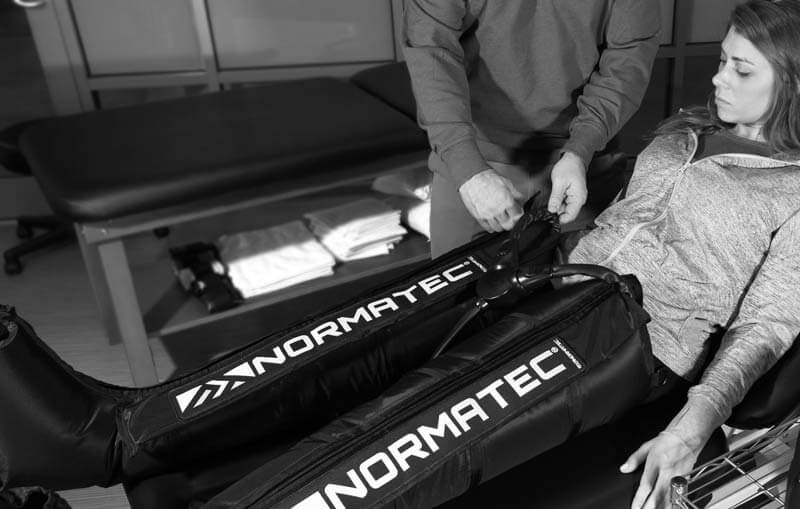 Normatec Compression Therapy at Blue Sky Physical Therapy